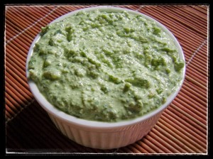 Creamed Basil Pesto