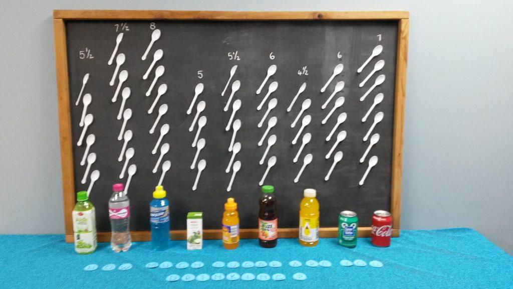drinking sugar